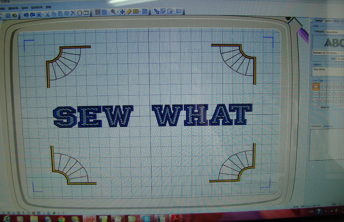 Sew What's Embroidery